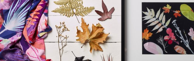 Printing with Leaves with Clare Walsh - £74