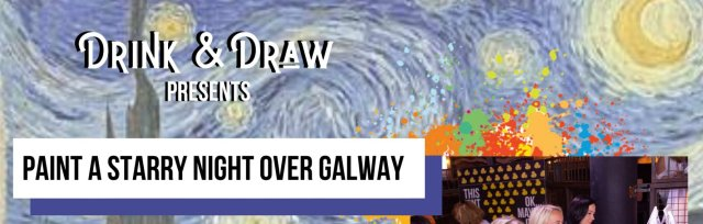 Drink & Draw: Starry Night Over Galway