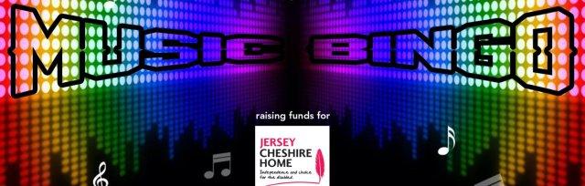 Online Music Bingo for Jersey Cheshire Home
