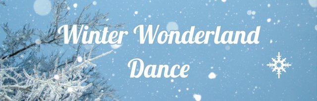 Winter Wonderland Dance 2020