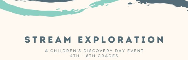 Stream Exploration PM for 4th - 6th Grades