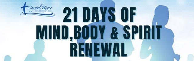 21 Days of Mind, Body & Spirit Renewal