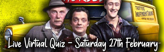 Only Fools and Horses Live Virtual Quiz