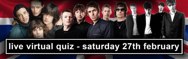The Britpop Live Virtual Quiz