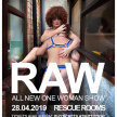 Kitty Tray Presents : RAW A One Woman Show image