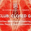 Sex Club: Closed Group - A Four Week Course image