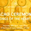 Cacao Ceremony: Songs of the Heart image