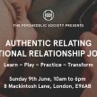 Authentic Relating: Intentional Relationship Journey image