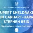 Rupert Sheldrake, Robin Carhart-Harris and Stephen Reid In Conversation image