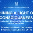 SOLD OUT: Shining a Light on Consciousness: Lucia 3 & Pandora Star image