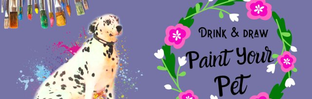 Drink & Draw: Paint Your Pet (Second Date)