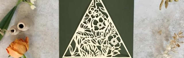 Introduction to Paper Cutting with Sarah Dennis - £68