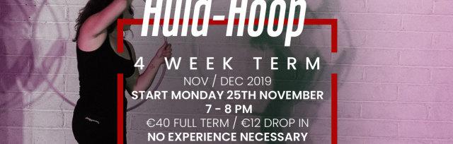 Hula Hoop - 4 Week Term Starts Mon 25th Nov