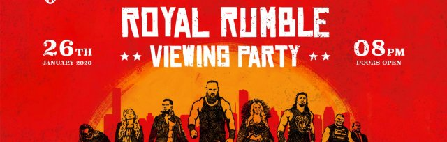 Newcastle Royal Rumble 2020 Viewing Party