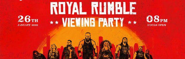 Hull Royal Rumble 2020 Viewing Party