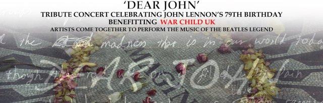 John Lennon's 79th Birthday Tribute in Aid of War Child UK