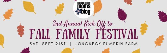 Kick Off to Fall Family Festival