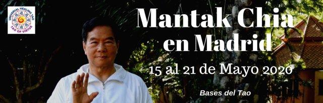 Mantak Chia en Madrid 2020