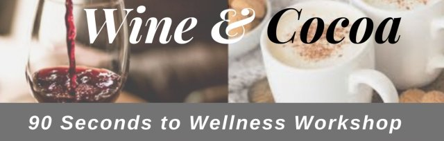Wine & Cocoa & 90 Seconds To a Healthier You!