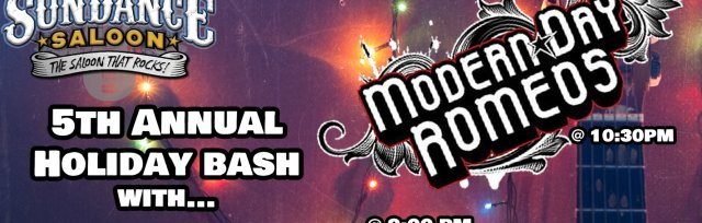 5th Annual Holiday Bash with Modern Day Romeos and Sunset Strip