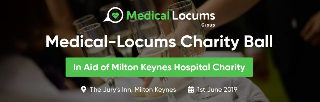 Medical-Locums Group Charity Ball in Aid of MKHC