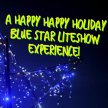 A Very Happy Holiday Blue Star LITE SHOW Drive-in Experience! (1 hour special Holiday Event!) - 5:45PM - Enter at 5:15PM image
