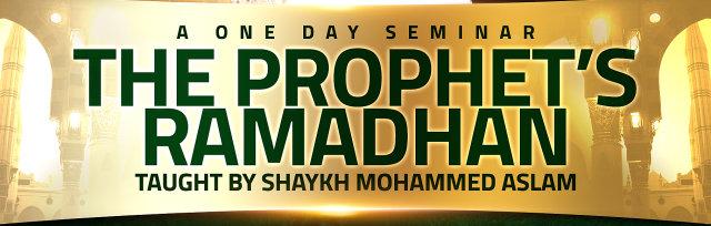 Nottingham: The Prophet's Ramadan