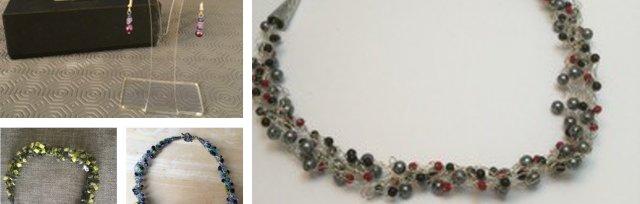 Jewellery Making - Crochet Necklace & Earrings with Jenny Flight - £74