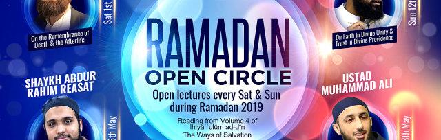 Ramadan open circle - Open lectures every Sat and Sun during Ramadan