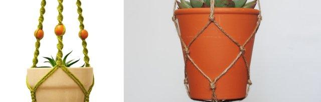 Macrame Plant Hangers with Jen Walsh - £40