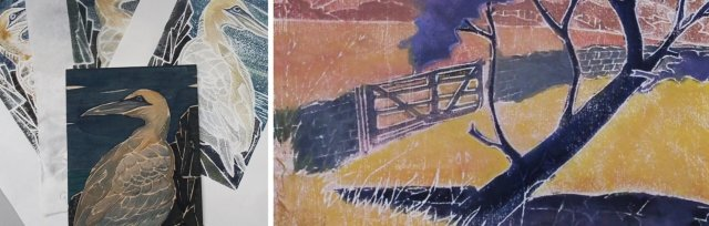 White Line Woodblock Printing with Beth Jenkins - £74