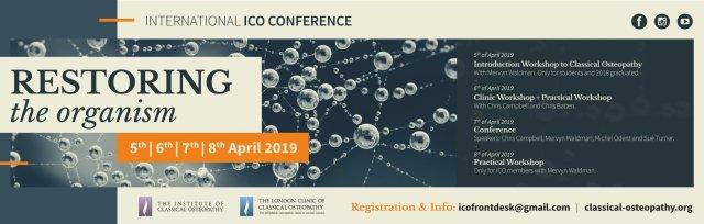 International Conference & Workshops - Restoring the Organism