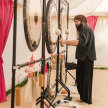 7.30pm Gong Bath at Hale Yoga, Hale image