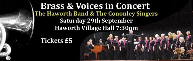 Brass & Voices in Concert at Haworth Village Hall