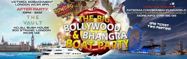 The Big Bollywood & Bhangra Boat Party & After Party