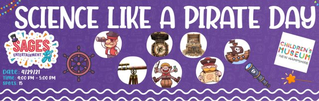 Science Like a Pirate Day!