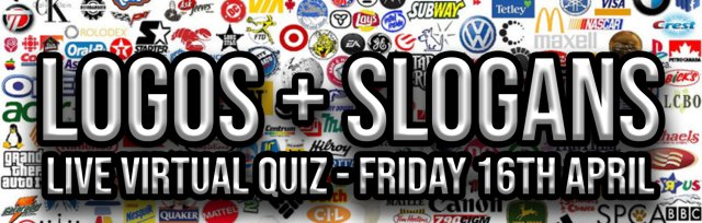 The Logos and Slogans Live Virtual Quiz
