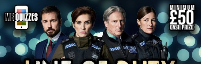 The Line of Duty Live Virtual Quiz
