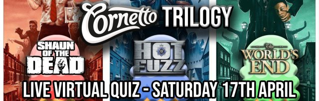 The Cornetto Trilogy Live Virtual Quiz