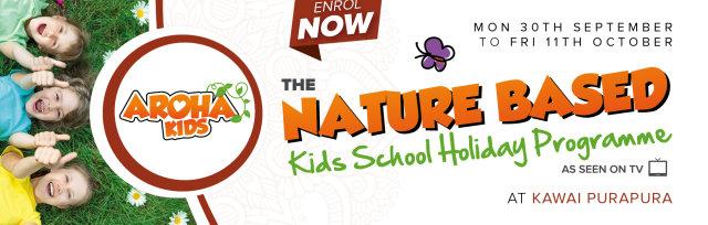 Aroha Kids School Holiday Programme - October 2019