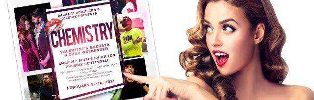 """Chemistry"": Bachata Addiction's 5th Anniversary Valentine's Weekender"