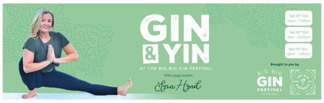 Gin and Yin Yoga at the Big Big Gin Festival