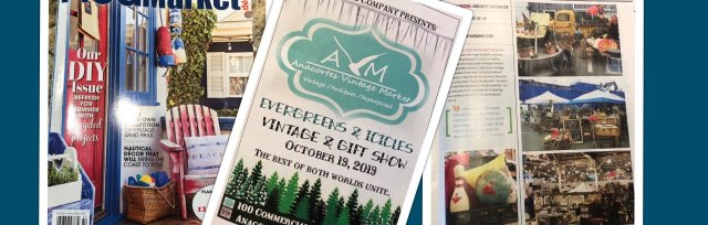 VIP Evening Event -EVERGREENS & ICICLES- Friday Oct 18th- $20 * Must be 21 or older (FREE entry into Saturday shopping)