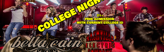 Bella Cain and Nashville Electric Company Rock the Saloon!