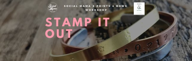 STAMP IT OUT: Jewellery workshop