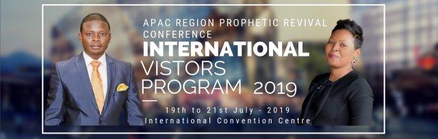 APAC Region Prophetic Revival Conference and  IVP International Visitors Program