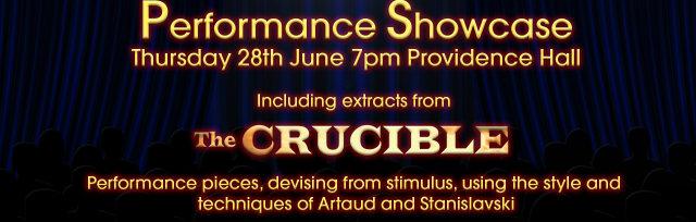 Key Stage 4 Performance Showcase