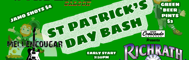 St Patrick's Day Fest with Mellencougar and Richrath 3:13 (REO Speedwagon Tribute)