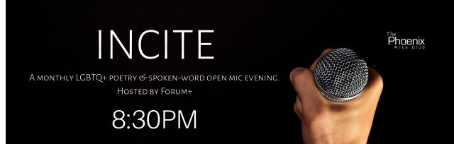 INCITE! A Free Monthly Poetry & Spoken Word Evening by Forum+