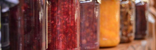 Wednesday Adult Jam Strawberry Rhubarb